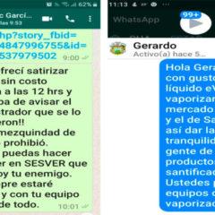 Gobernador de Veracruz impide desinfección gratuita en asilo y mercados en Xalapa